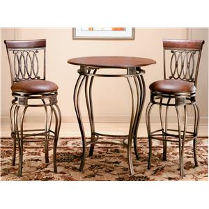 Morris Home Furnishings Montello 3 Piece Montello Bistro Set