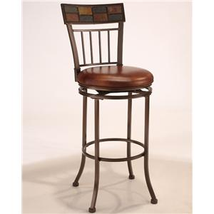 "Morris Home Furnishings Montero 30"" Swivel Stool"