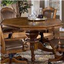 Hillsdale Nassau Nassau Single Pedestal Game Table - 6060-810+811