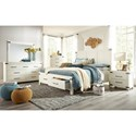 Hillsdale New Castle King Bedroom Group - Item Number: 2626 K Bedroom Group 1