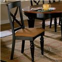 Morris Home Furnishings Northern Heights Dining Chair - Item Number: 4439-802W