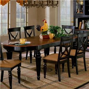Morris Home Furnishings Northern Heights Dining Table