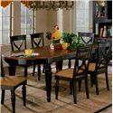 Hillsdale Northern Heights Dining Table - Item Number: 4439-816W