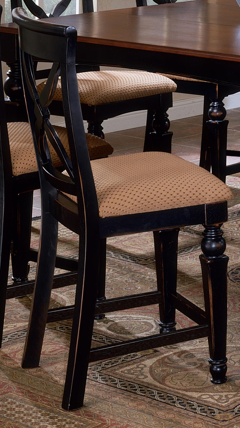 Hillsdale Northern Heights Non-Swivel Counter Stool - Item Number: 4439-822W
