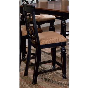 Morris Home Furnishings Northern Heights Non-Swivel Counter Stool