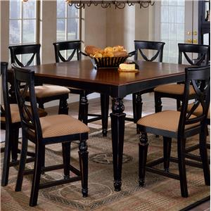 Morris Home Furnishings Northern Heights Counter Height Dining Table