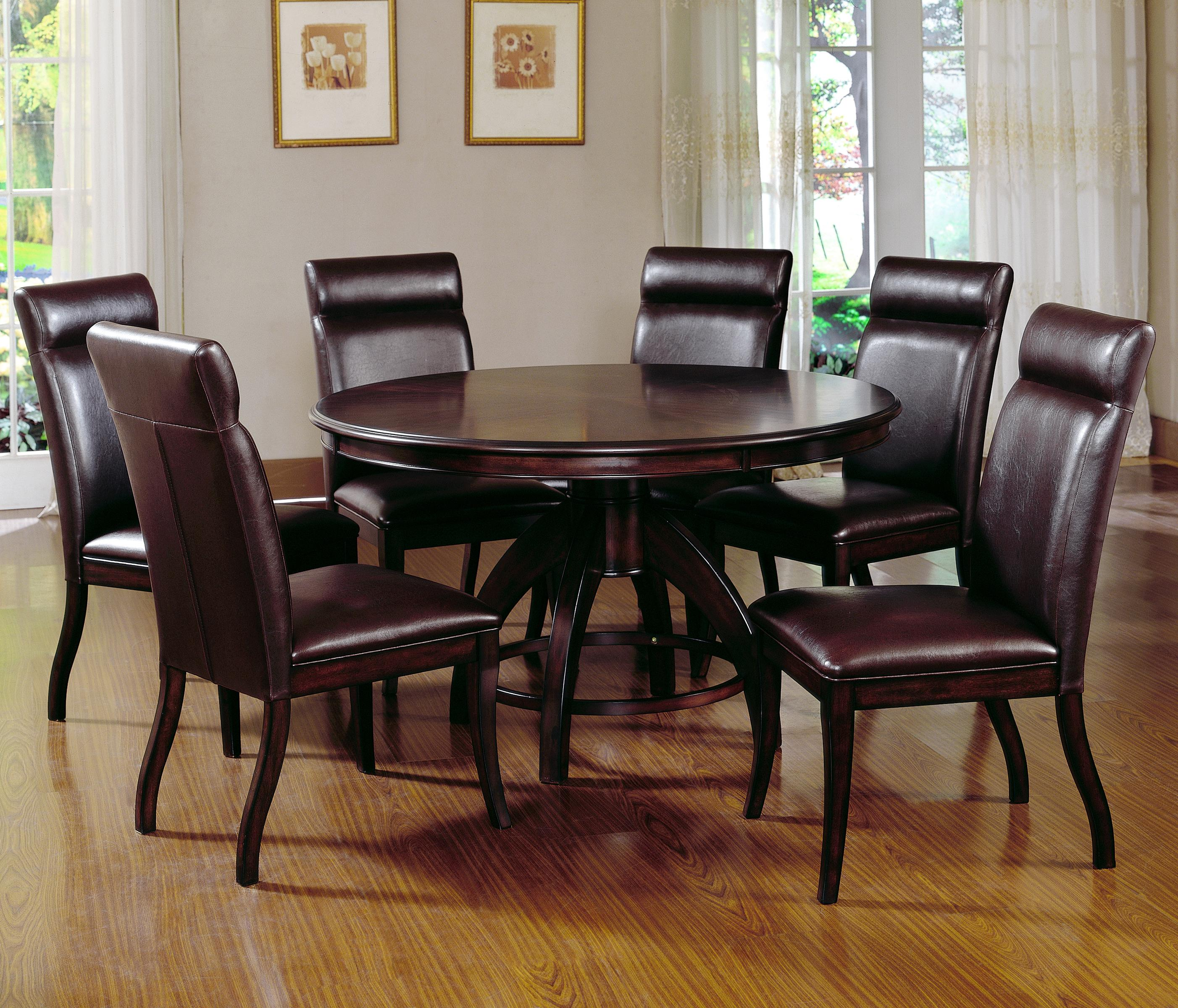 Hillsdale Nottingham 7 Piece Timeless Dining Set Prime Brothers Furniture Dining 7 Or More