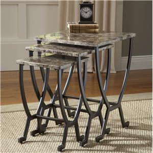 Morris Home Furnishings Occasional Tables Monaco Nesting Tables
