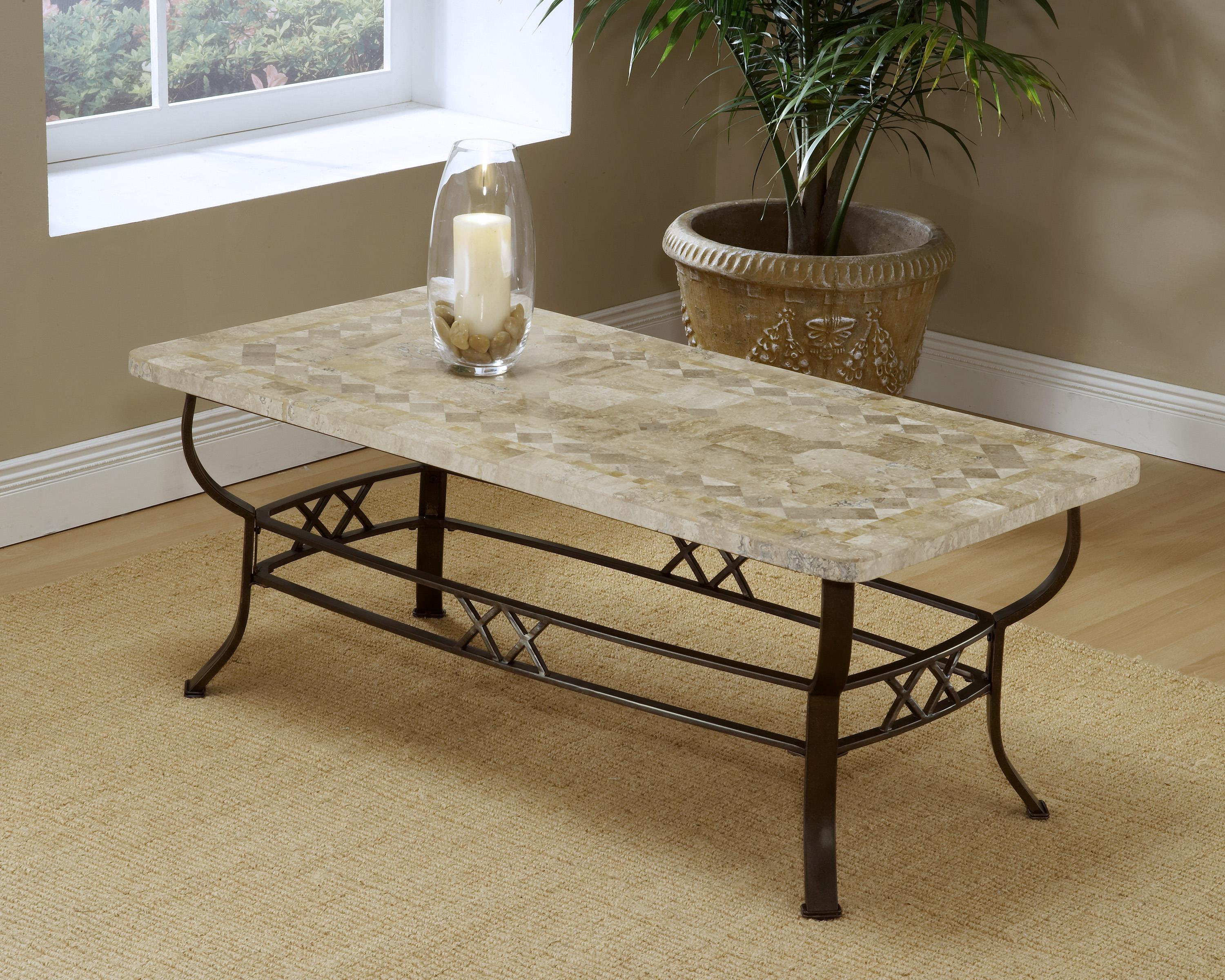 Hillsdale Occasional Tables Brookside Fossil Coffee Table - Item Number: 4815OTC