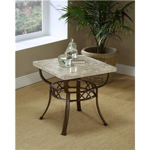 Hillsdale Occasional Tables Brookside Fossil End Table