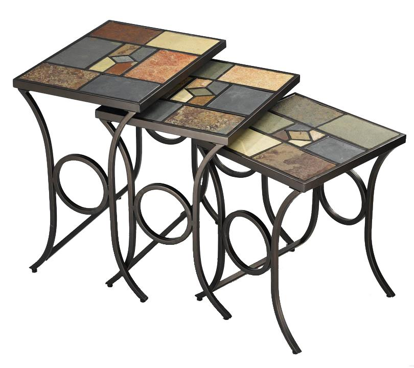 Hillsdale Occasional Tables Pompei Nesting Tables - Item Number: 61713