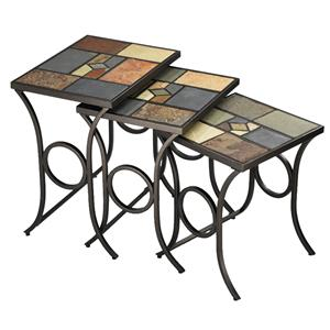 Hillsdale Occasional Tables Pompei Nesting Tables