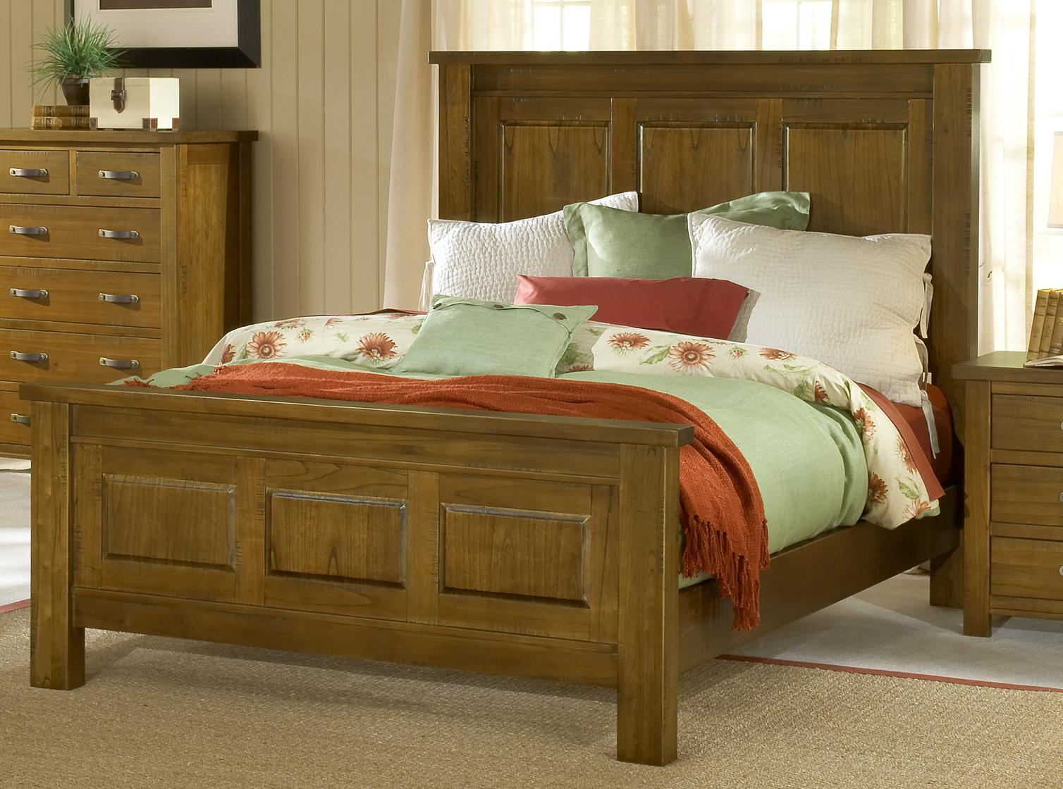 Outback Queen Panel Bed