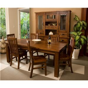 Hillsdale Outback Seven Piece Dining Set