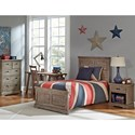 Hillsdale Oxford Twin Bedroom Group - Item Number: 7104 T Bedroom Group 1