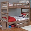 Hillsdale Oxford Twin Over Twin Bunk - Item Number: 7104-011NB