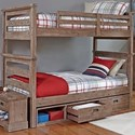 Hillsdale Oxford Twin Over Full Bunk - Item Number: 7104-011NBTF