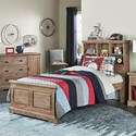 Hillsdale Oxford Twin Bookcase Bed - Item Number: 7104-370N