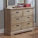 Hillsdale Oxford Dresser - Item Number: 7104-717