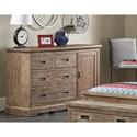 Hillsdale Oxford Dresser - Item Number: 7104-718