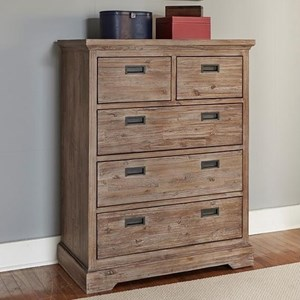 Morris Home Oxford Five Drawer Chest
