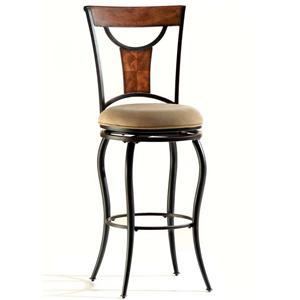 "Morris Home Furnishings Pacifico 30"" Swivel Stool"