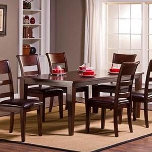 Morris Home Furnishings Park Avenue Leg Dining Table