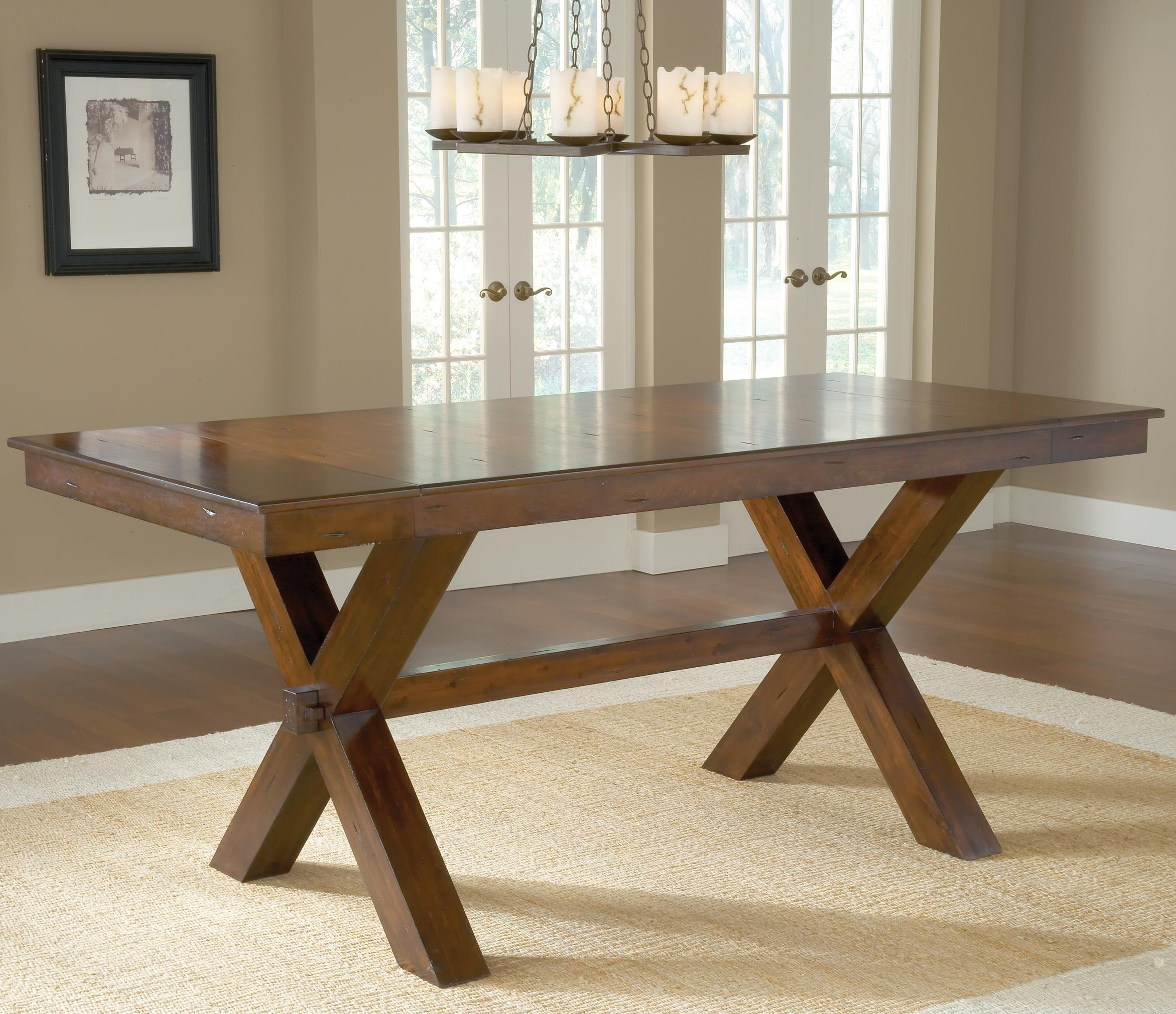 Hillsdale Park Avenue Counter Height Trestle Table - Item Number: 4692CTB