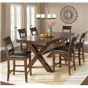 Hillsdale Park Avenue 7 Piece Pub Table