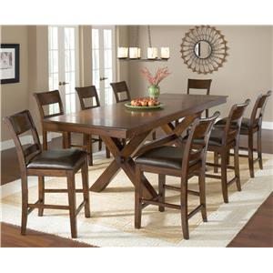 Hillsdale Park Avenue 9 Piece Pub Table