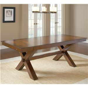 Hillsdale Park Avenue Trestle Table