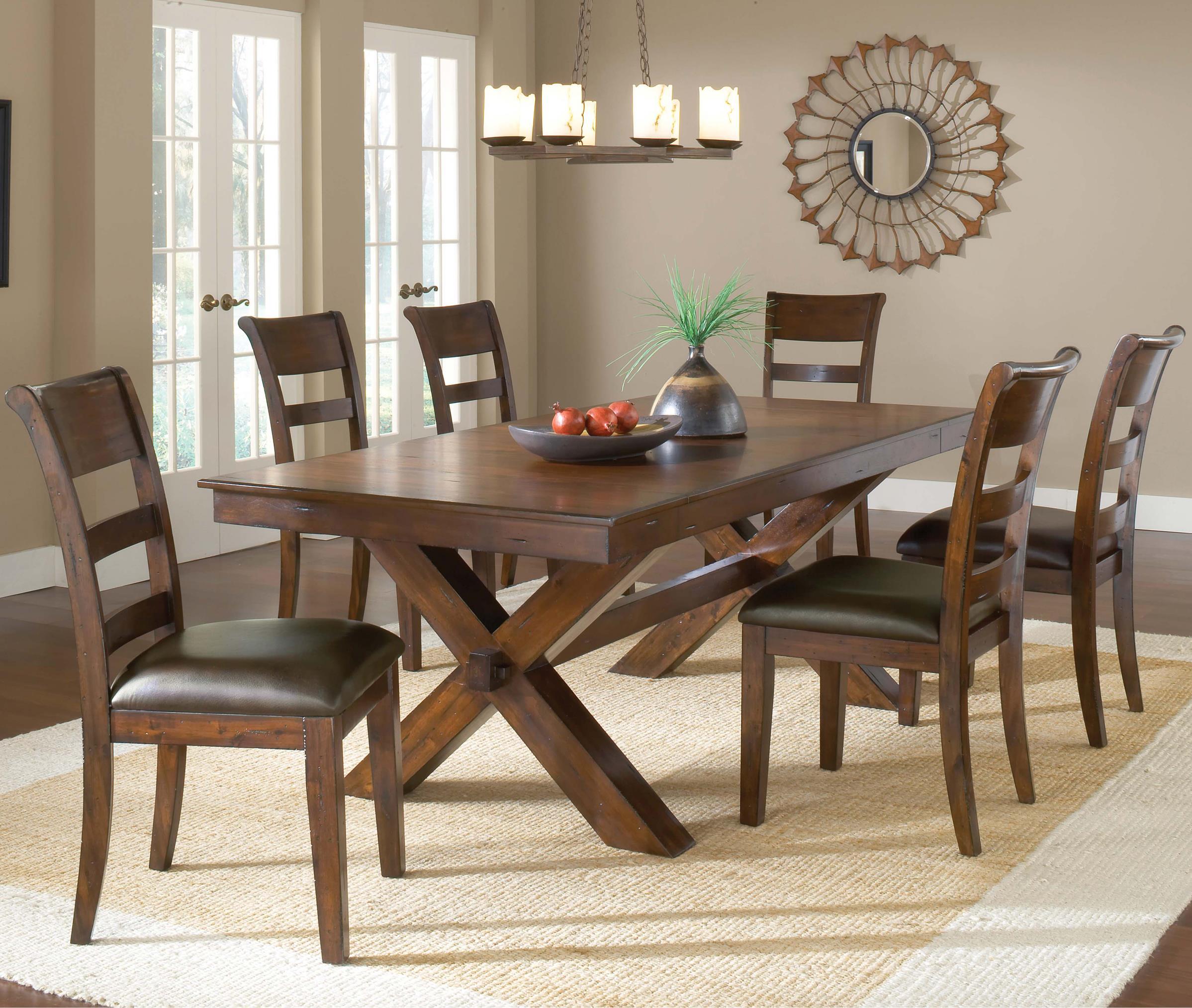 Hillsdale Park Avenue 7 Piece Dining Set - Item Number: 4692DTBC7