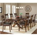 Hillsdale Park Avenue 9 Piece Dining Set  - Item Number: 4692DTBC9