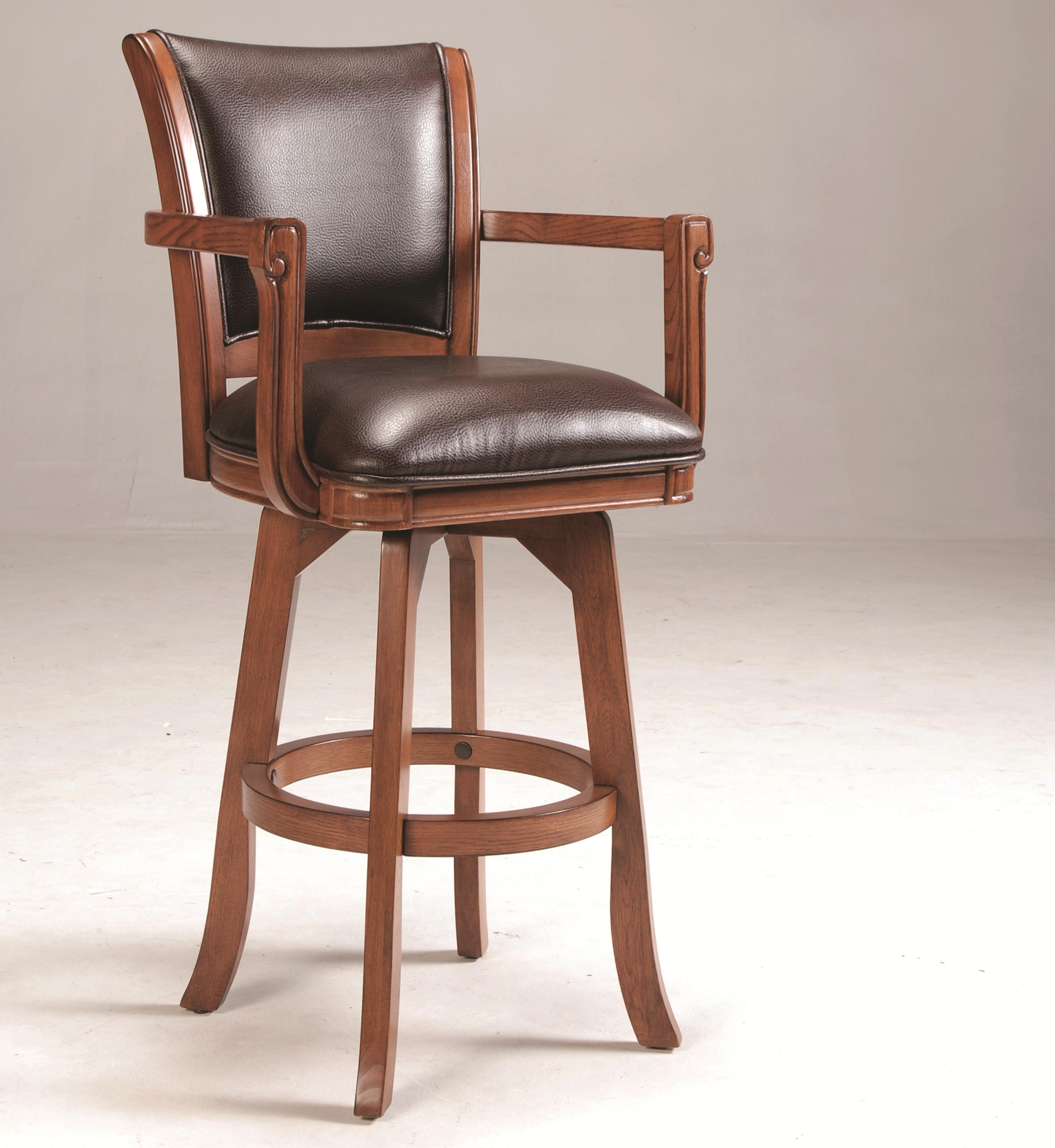 Hillsdale Park View Swivel Bar Stool - Item Number: 4186-830