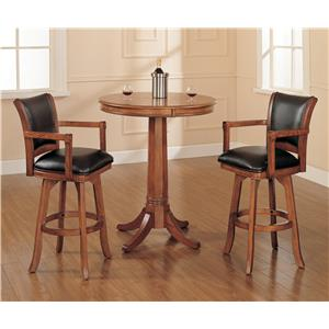 Hillsdale Park View 3 Piece Pub Set