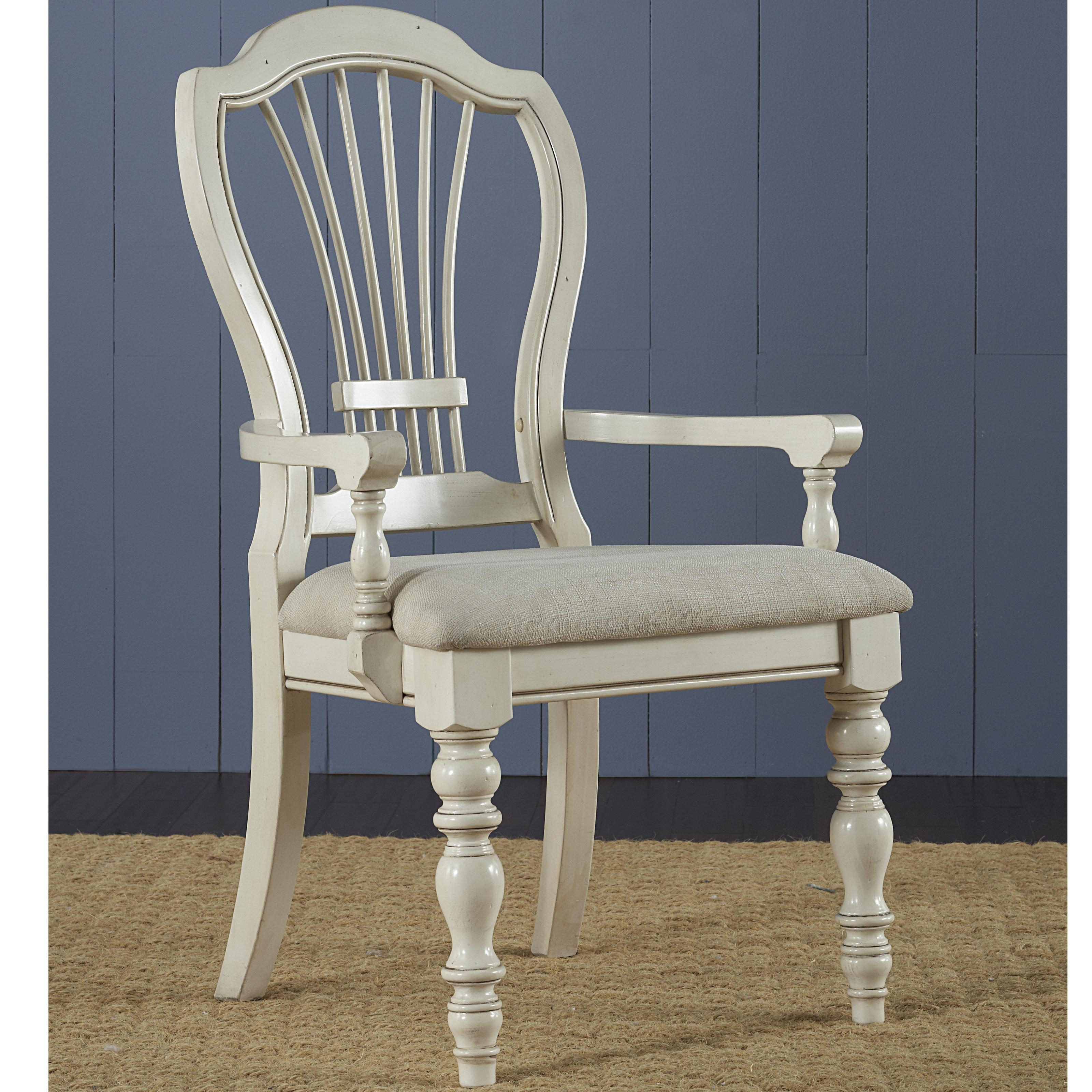 Hillsdale Pine Island Dining Arm Chair - Item Number: 5265-803