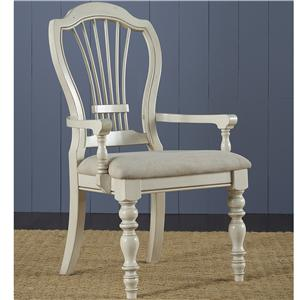 Hillsdale Pine Island Dining Arm Chair