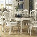 Morris Home Furnishings Nantucket Dining Table - Item Number: 5265-819