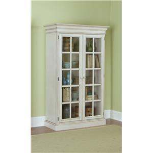 Morris Home Furnishings Nantucket Large Library Cabinet
