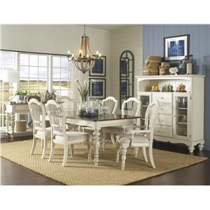 Morris Home Furnishings Nantucket 7 Piece Dining Set