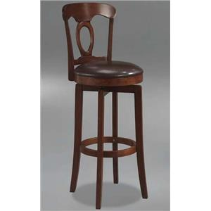 Morris Home Plainview Plainview Corsica Swivel Barstool