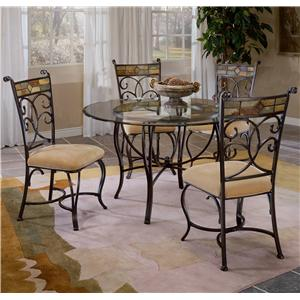 Morris Home Furnishings Pompei 5 Piece Dining Set