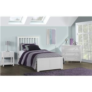 Marley Mission Twin Bed