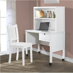 Student Desk with Hutch and Chair