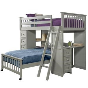 TWIN OVER TWIN STUDENT LOFT