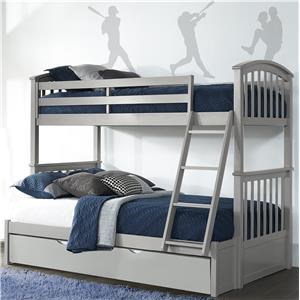 Full Bunkbed w/ Trundle