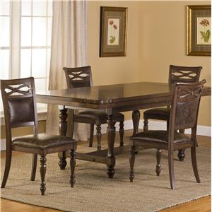 Hillsdale Seaton Springs 5 Piece Dining Table Set