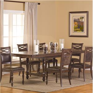Hillsdale Seaton Springs 7 Piece Dining Set