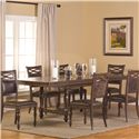 Hillsdale Seaton Springs 7 Piece Dining Set - Item Number: 5484DTBC7