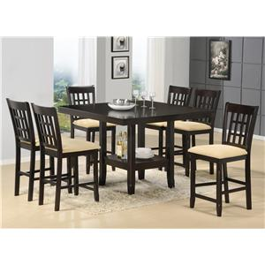 Morris Home Furnishings Tabacon 7-Piece Dining Set